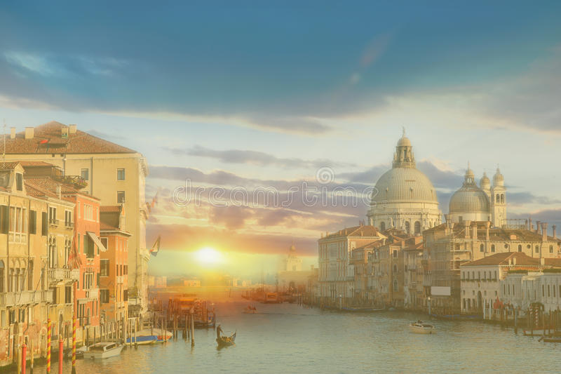 Gondole di Venezia immagine stock
