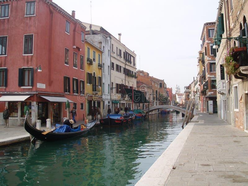 gondole Wenecji obrazy stock