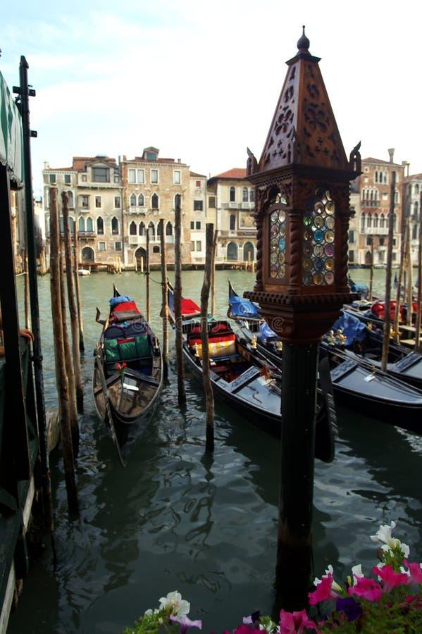 gondole Wenecji zdjęcie royalty free