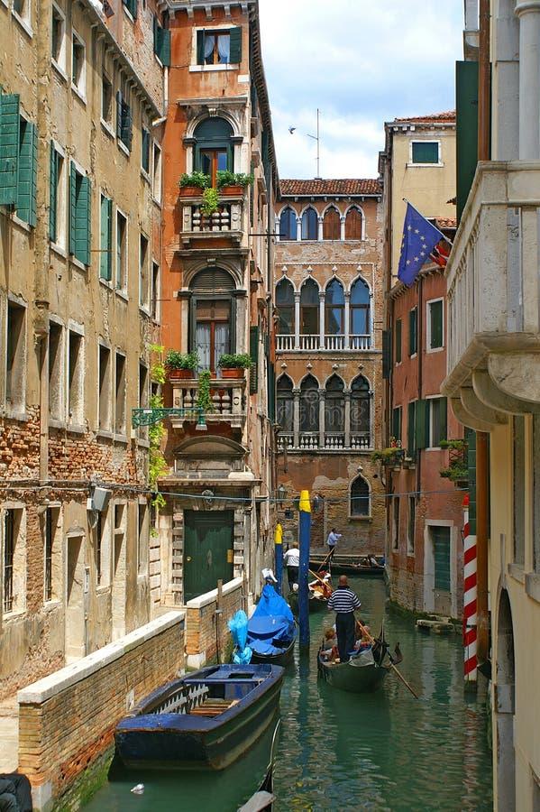 gondole Wenecji zdjęcia royalty free