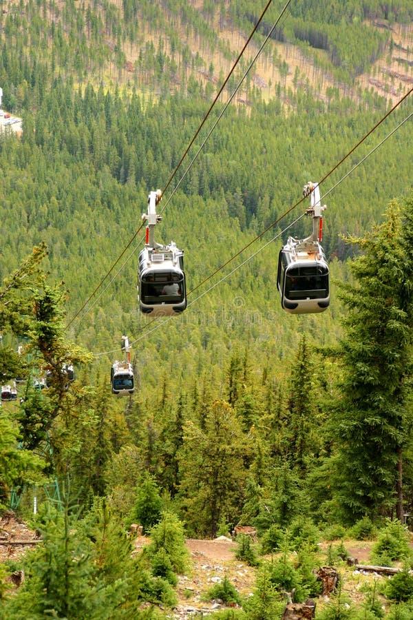 Download Gondoler arkivfoto. Bild av kanada, berg, park, gondol - 234428