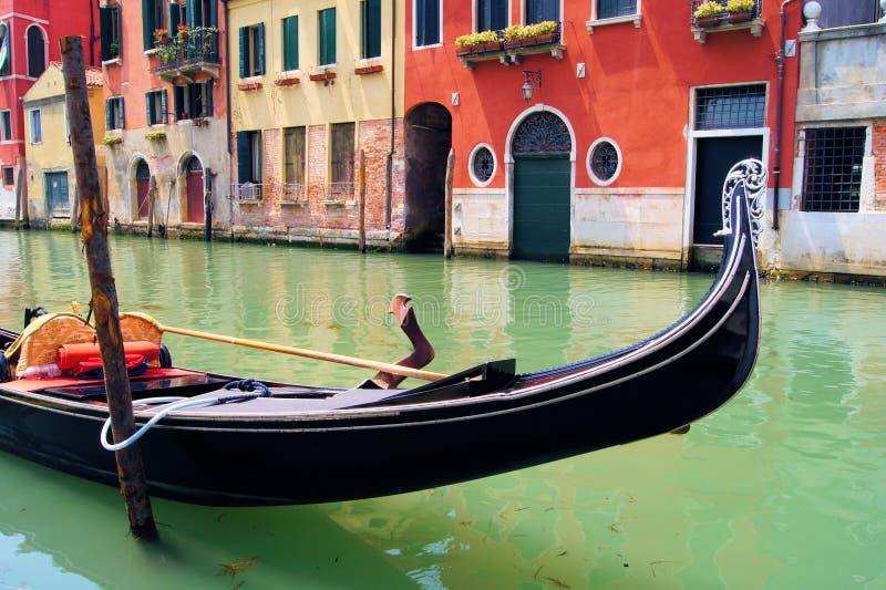 Gondoler av Venedig arkivfoto