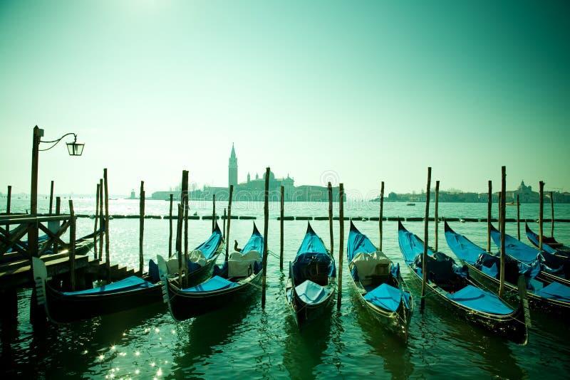 gondoles Italie Venise photographie stock
