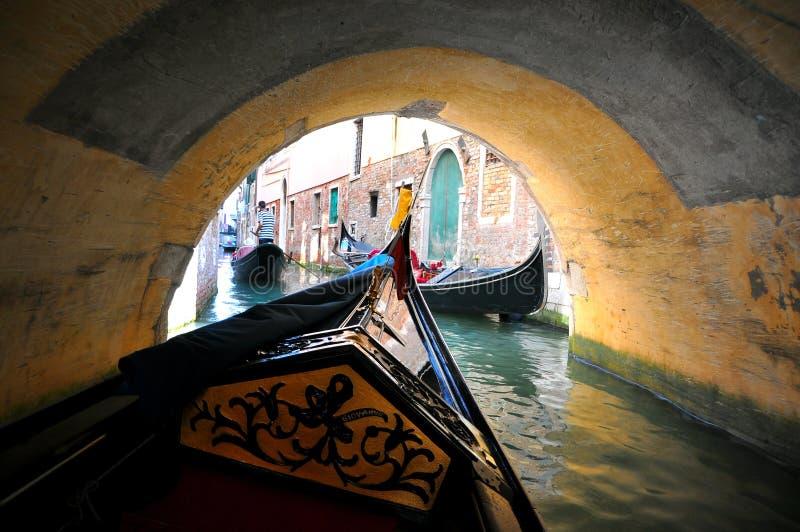 gondoli Italy przejażdżka Venice obrazy stock
