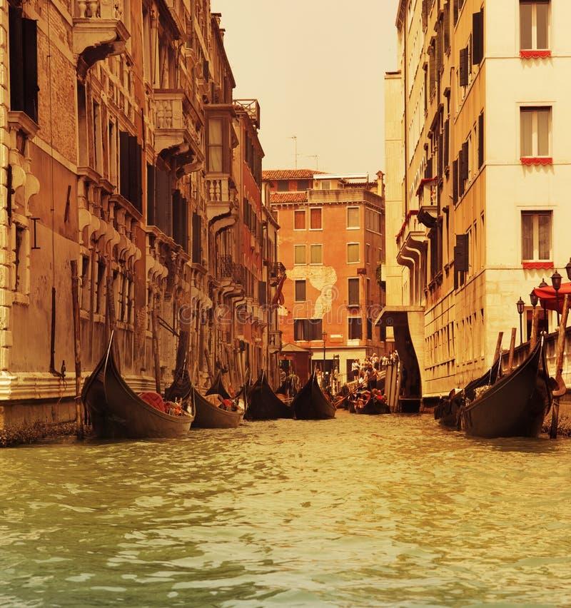 gondoli przejażdżka tradycyjny Venice obrazy stock