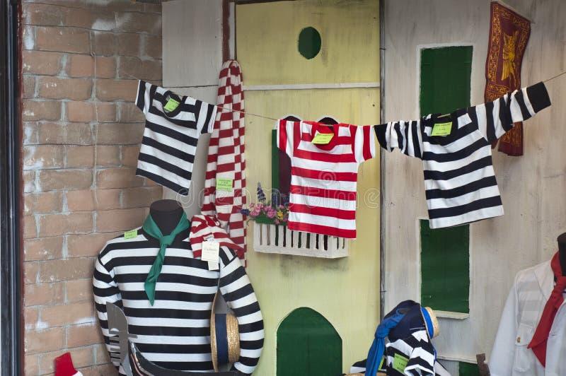 Gondolier πουλόβερ για την πώληση στοκ φωτογραφίες