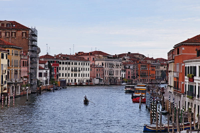 Download Gondolier editorial image. Image of holiday, europe, alone - 20840600