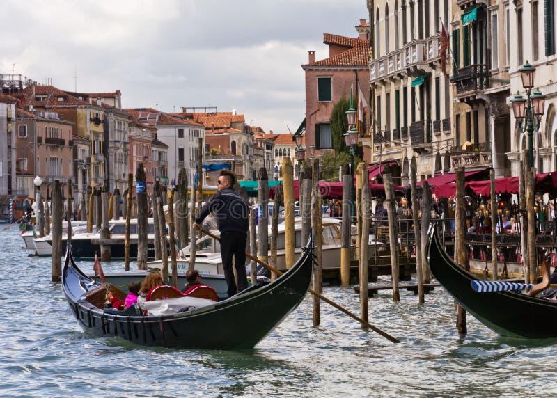 gondoliery Venice zdjęcie royalty free