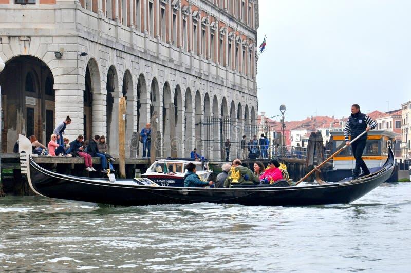 Gondolla łódź w Wenecja zdjęcie stock