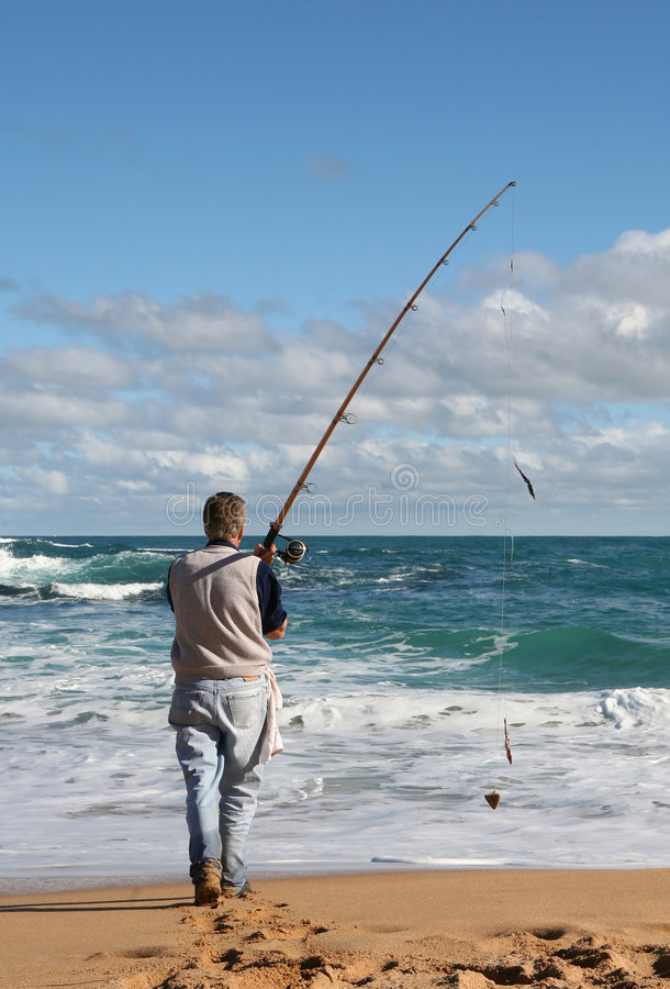 Gone Fishin' stock photography