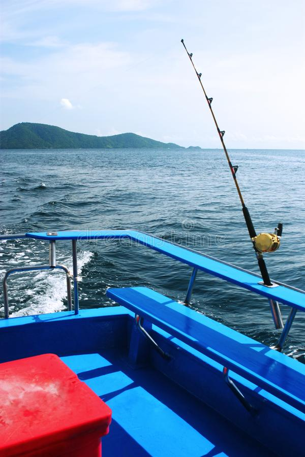Gone fishing royalty free stock photos