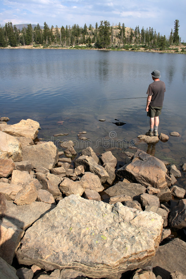 Download Gone Fishing stock image. Image of hobby, relaxing, water - 5994773