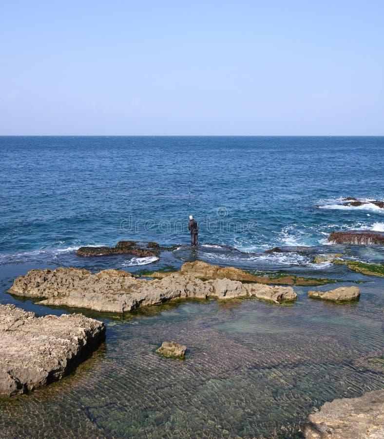 Download Gone Fishing(Beirut-Lebanon) Stock Image - Image: 12841623