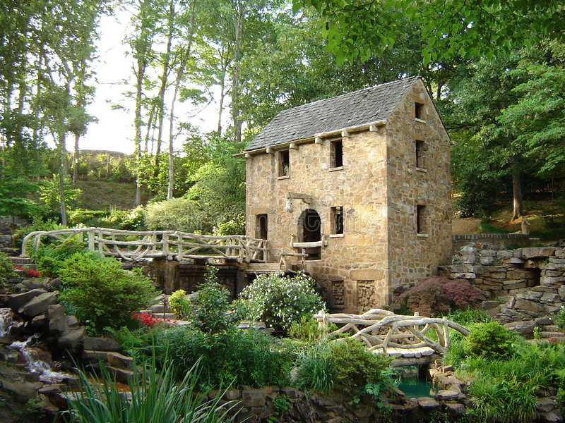 Gone with the Wind movie location, The Old Mill royalty free stock photo