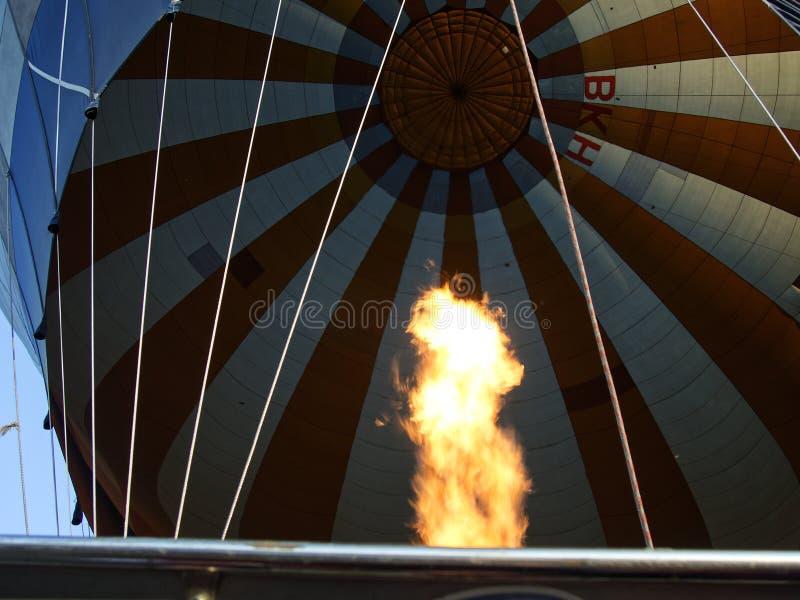 Gonfiamento del cappadocia del pallone immagine stock libera da diritti