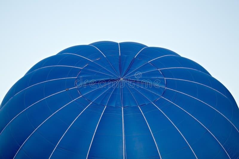 Gonflage chaud de ballon à air images stock