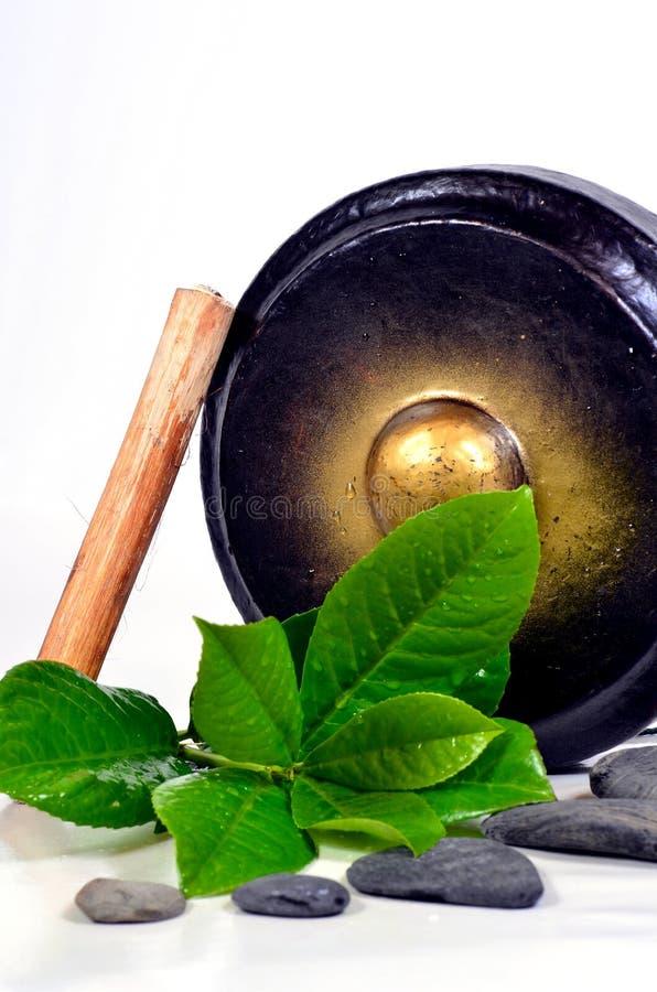 gong dryluje wellnes zdjęcie stock