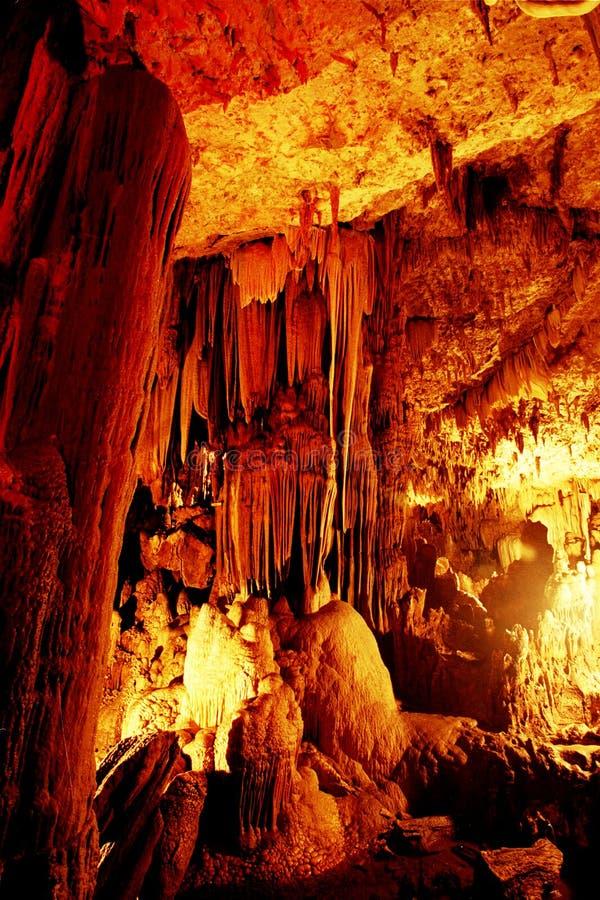 Gong Pacitan Indonésie de caverne image libre de droits
