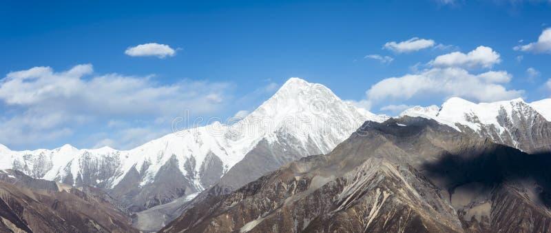 Gongga snow mountain royalty free stock image