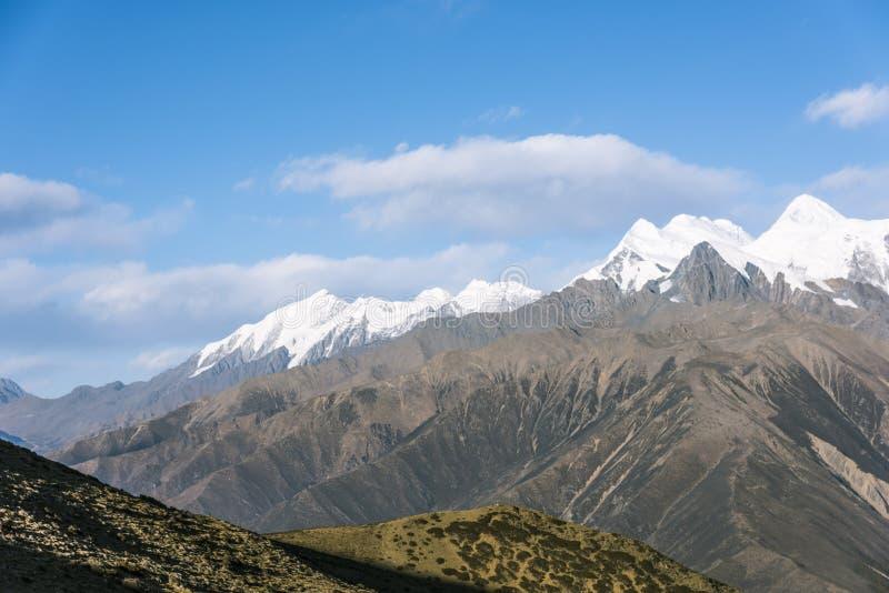 Gongga snow mountain stock photo