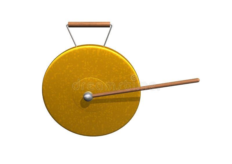 Gongo stock de ilustración