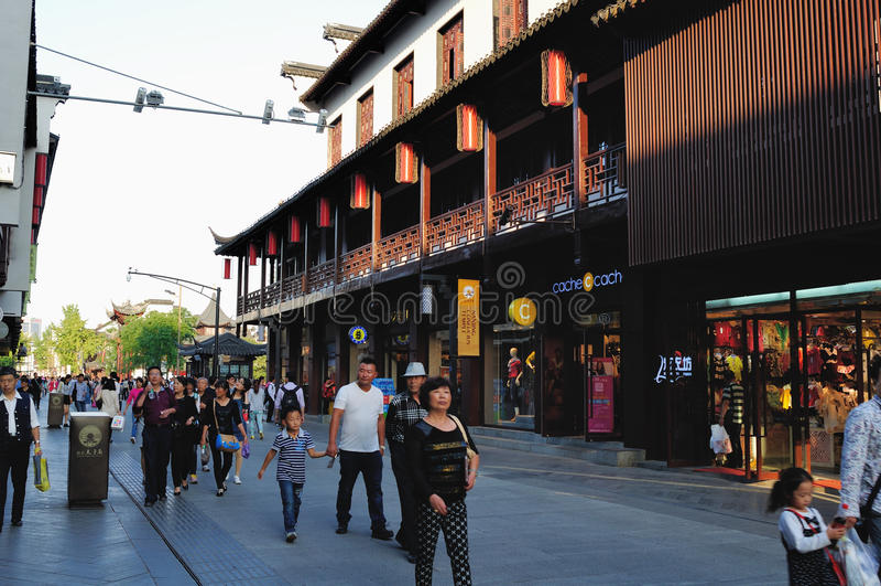 Gongyuan Street royalty free stock photography