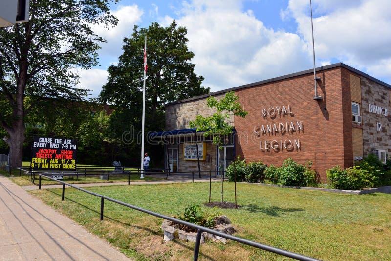 Goni as przy Królewską Kanadyjską legią fotografia stock