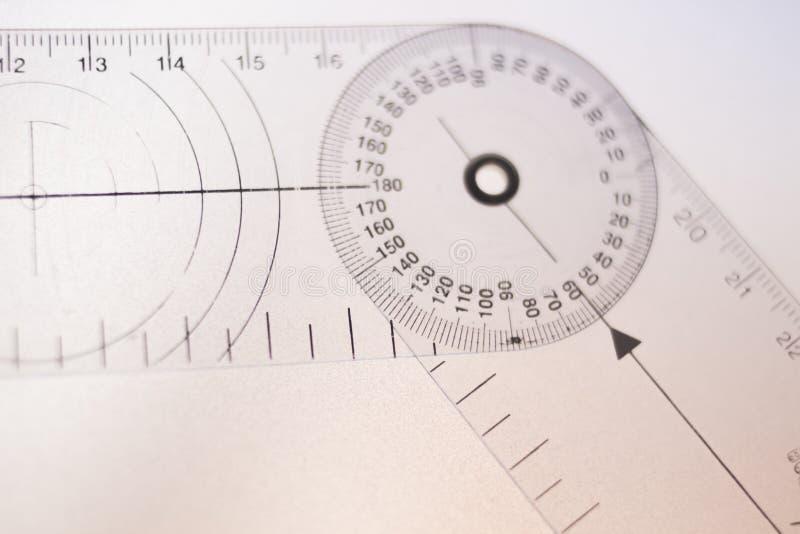 Goniômetro da fisioterapia fotos de stock