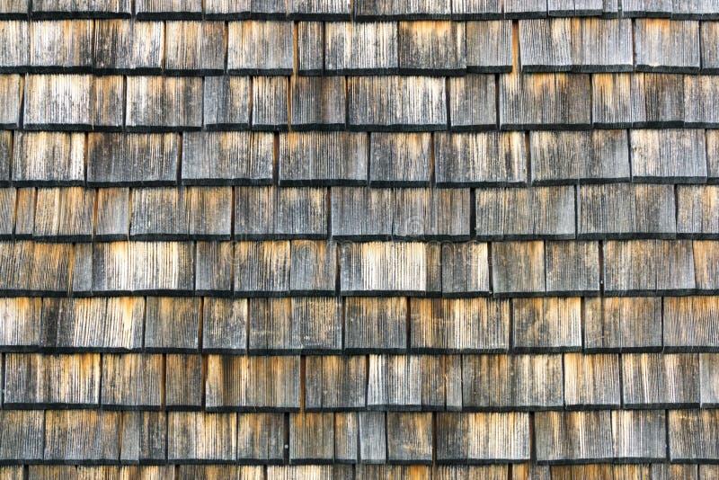 Gont starzejący się drewniany tła copyspace Wietrzejący potrząśnięcia, ładna barwiona tekstura obrazy stock