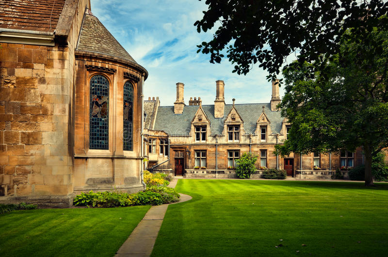 Download Gonville and Caius College stock image. Image of tree - 16253959