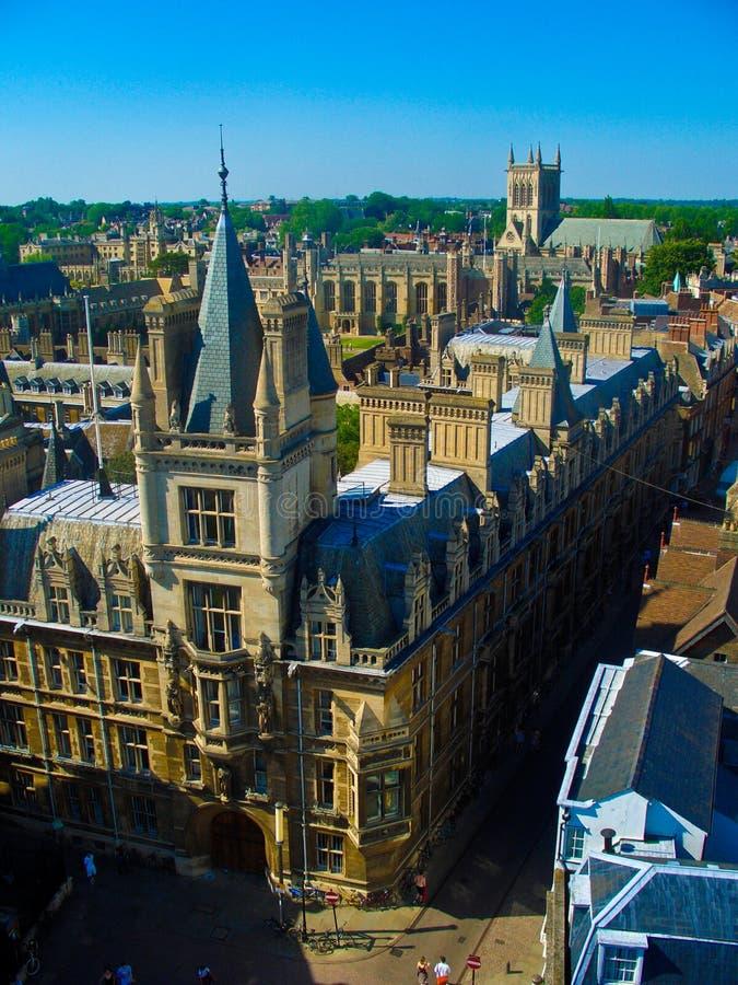 Gonville und Caius Hochschule, Universität von Cambridge lizenzfreie stockfotografie