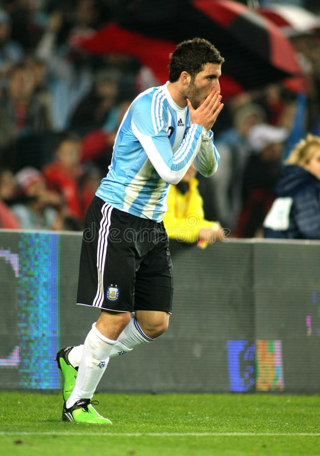 Download Gonzalo Higuain Of Argentina Editorial Stock Image - Image: 22052834