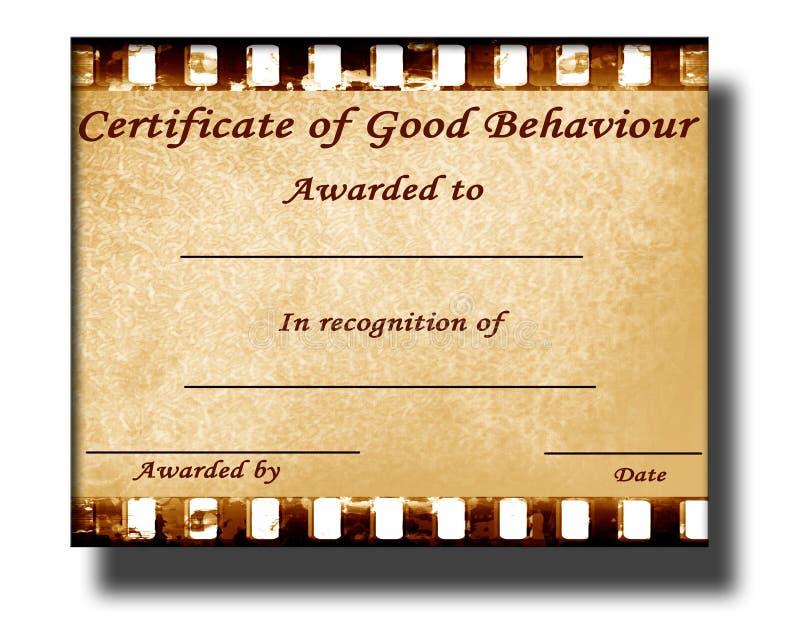 Good Behaviour Stock Illustration Illustration Of Awarded