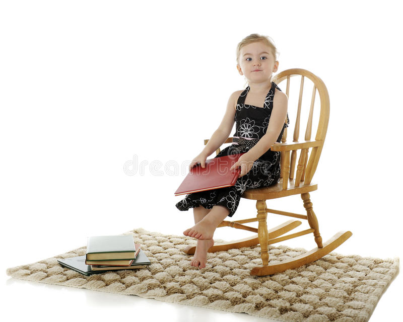 Download After a Good Book stock photo. Image of cute, holding - 24066310