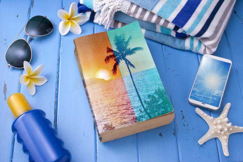Book Travel Summer Vacation Holiday royalty free stock image