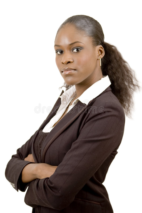 Good for Business. This is an image of a focussed business woman stock photos