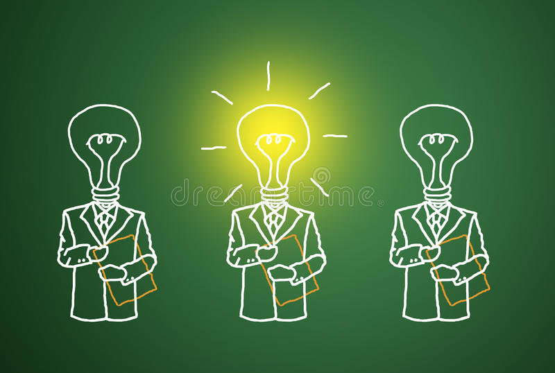 Download A Good Business Intelligence. Stock Illustration - Image: 22852440