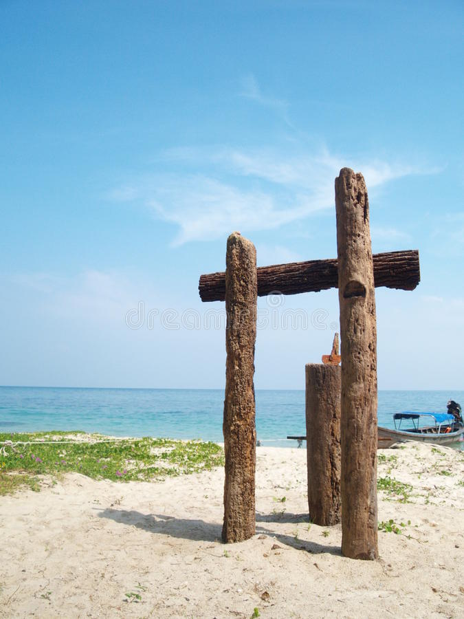 Download Good Bye Beach stock photo. Image of island, view, sign - 10830758