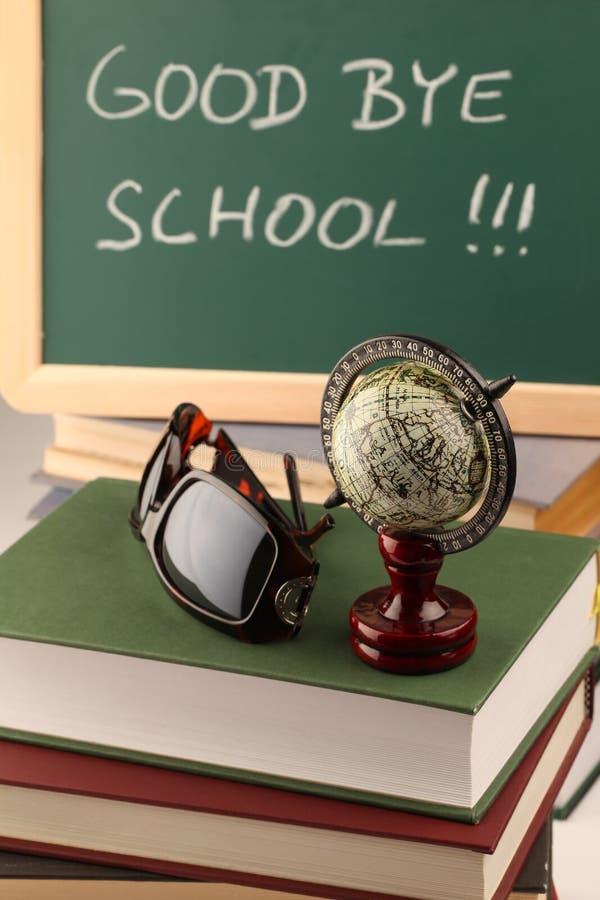 Download Good bye school stock image. Image of good, pile, chalk - 14373413