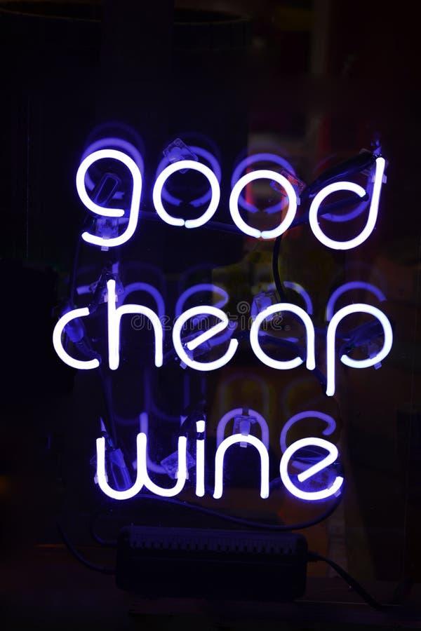 Good Cheap Wine Stock Image
