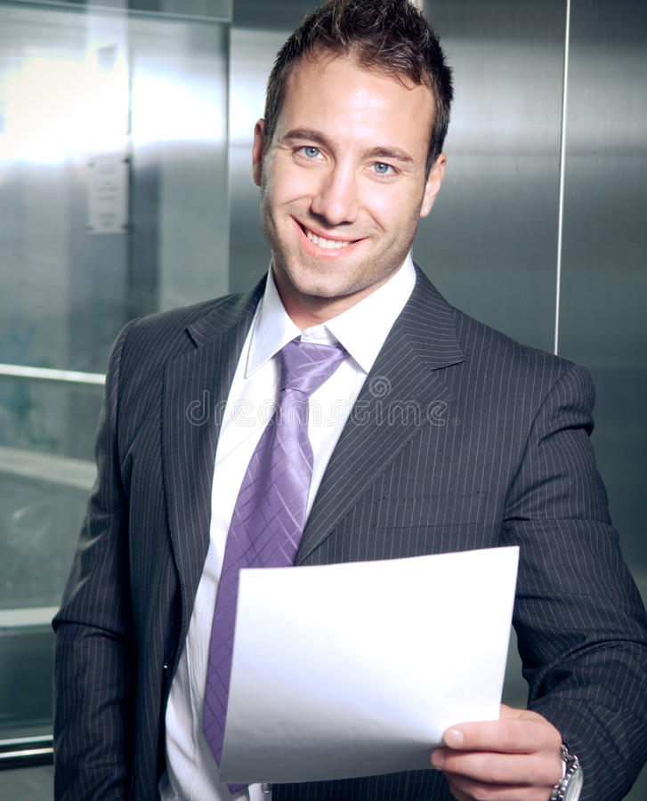 Good contract royalty free stock photography