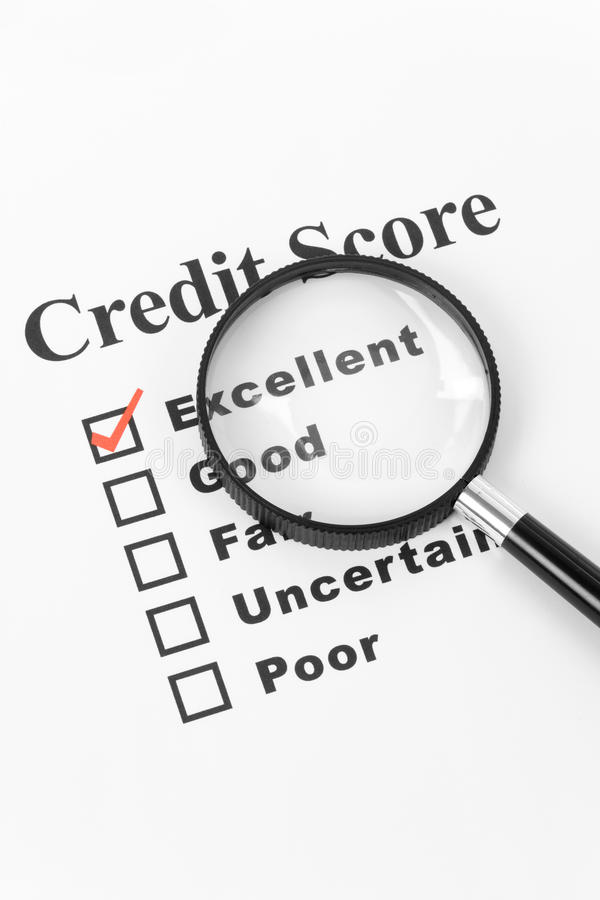Download Good Credit stock image. Image of concepts, report, glass - 9841119