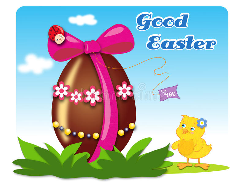 Download Good Easter stock illustration. Image of preto, animal - 23974937
