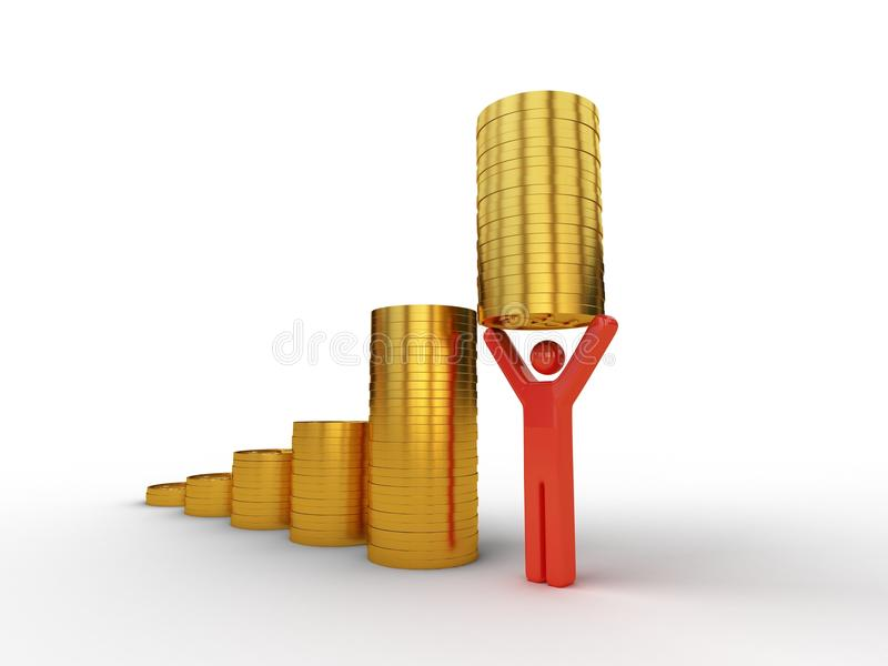 Download Good employee value stock illustration. Image of human - 12003934