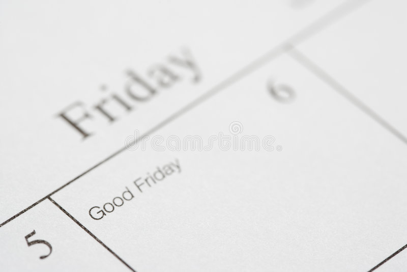 Good Friday. royalty free stock images