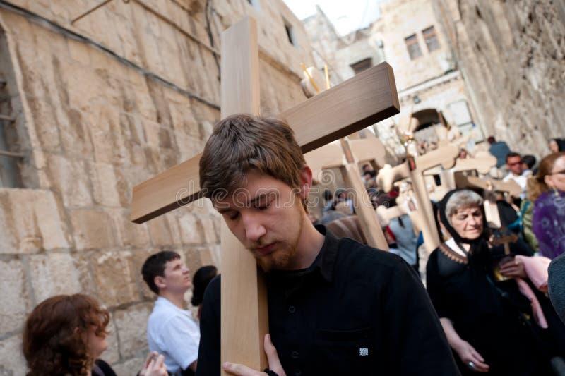 Good Friday in Jerusalem stock photography