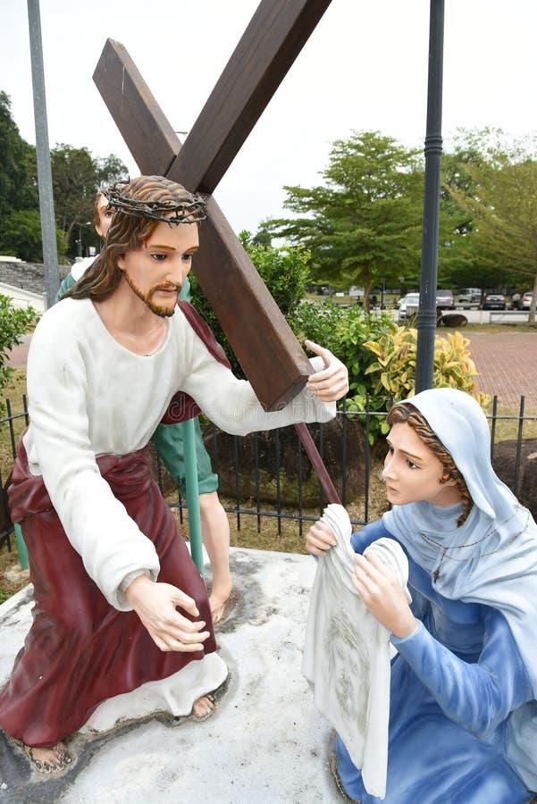 Good friday. Jesus Christ on Good Friday royalty free stock image