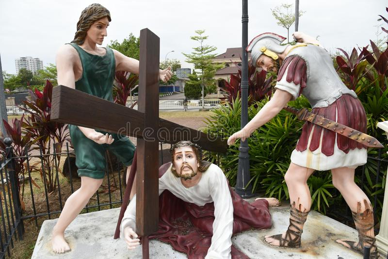 Good friday. Jesus Christ on Good Friday stock images