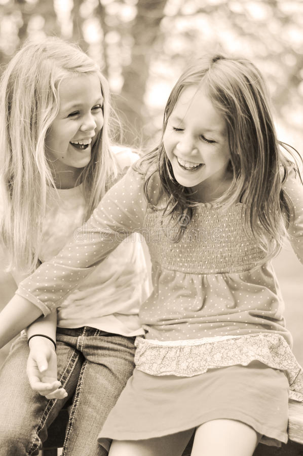 Free Good Friends Laughing Royalty Free Stock Image - 42584626