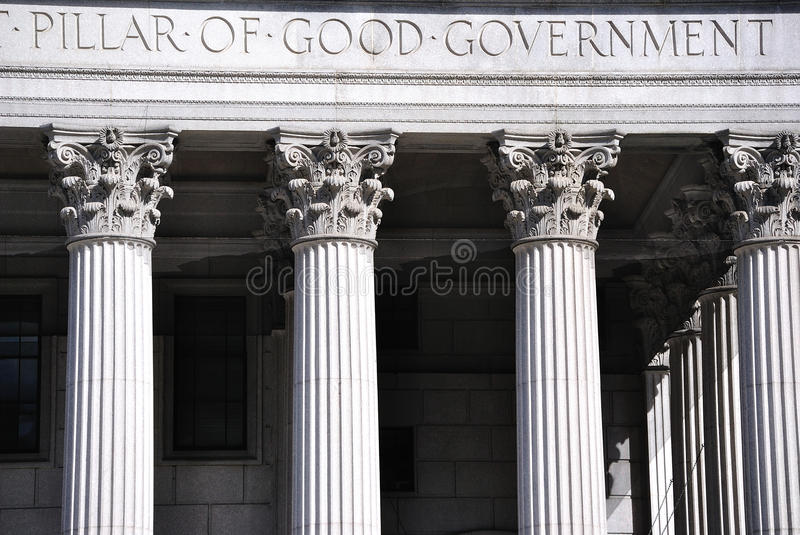 Good Government Court House stock photography